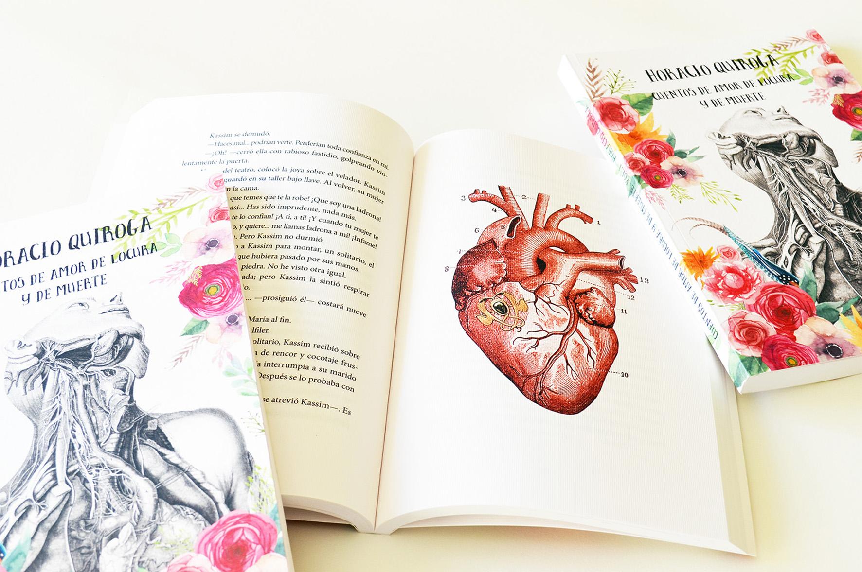 Cuentos de amor de locura y de muerte - Uve Books