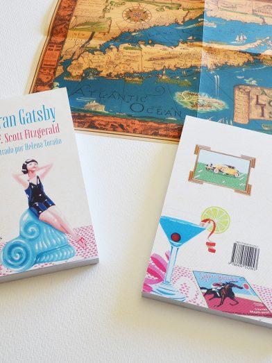 El gran Gatsby uvebooks cubierta y contracubierta