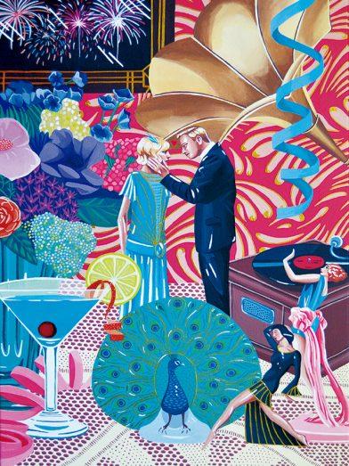 Lámina nº 2 el gran Gatsby